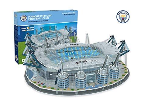 Paul Lamond 3885 Manchester City Fc Etihad Stadium 3D Jigsaw Puzzle (3d Puzzles Stadium)