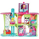 Mattel - Polly Pocket P5050-0 - Funkelnde Tierfreunde - Tierklinik