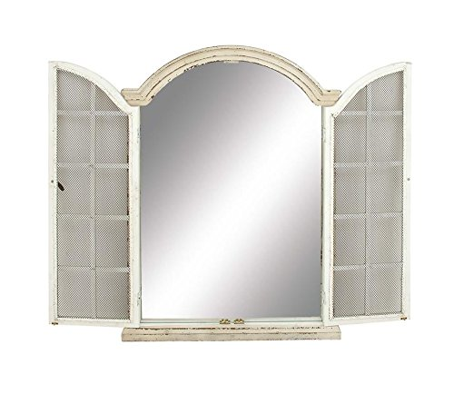 Deco 79 18153 Wood Door Mirror