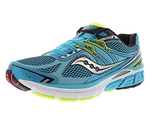 Saucony Women's Omni 14 Wide Blu/Blk/Ctn Running Shoe 6.5...