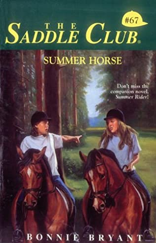 book cover of Summer Horse
