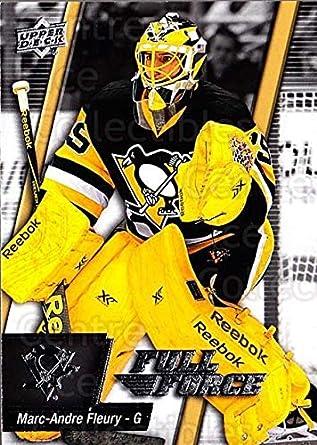 Amazon.com  (CI) Marc-Andre Fleury Hockey Card 2015-16 Upper Deck ... bc315db0f