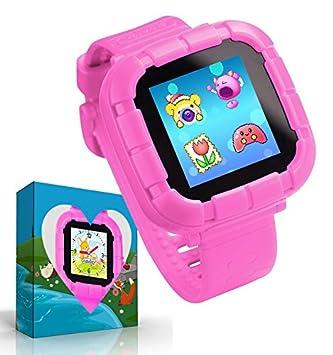 UKpingping Reloj Inteligente con Juegos, Smartwatch para niños, Niños niñas Relojes Inteligentes con cámara Digital Niños Inteligentes Juguetes para niños ...