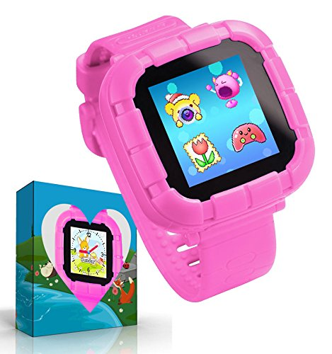 Cheap Smart Watch with Games,Kids Smartwatch,Boys Girls Smart Watches with Digital Camera Children's Smart Wrist Kids Gifts Learning Toys (Pink)