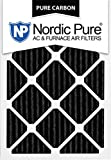 Nordic Pure 14x24x1PCP-6 Pure Carbon Pleated Air Filters (6 Pack), 14'' x 24'' x 1''