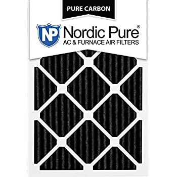 Nordic Pure 16x25x1pcp 6 Pure Carbon Pleated Air Filters