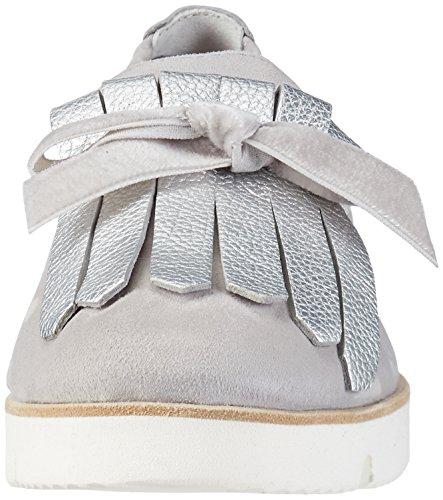 Kennel und Schmenger Schuhmanufaktur Malu X, Women's Ballet Flats Silber (Light/Light Silver Sohle Weiss)