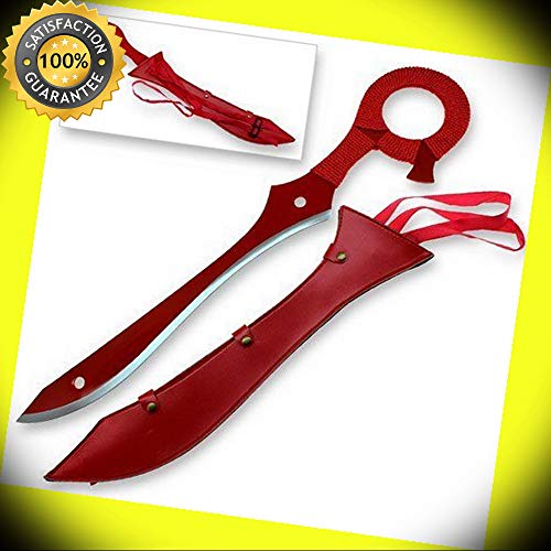 Kill Anime la Steel Kill Rending Half Scissors Blade Life Fibers Sword Full Tang perfect for cosplay outdoor camping