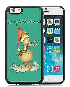 Popular Design iPhone 6 Case,Christmas Duck Black iPhone 6 4.7 Inch TPU Case 2