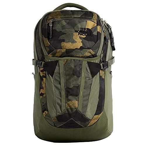 - The North Face Recon, Burnt Olive Green Waxed Camo Print/Burnt Olive Green, OS