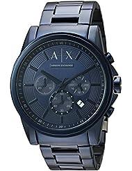 Armani Exchange Mens AX2512  Blue IP  Watch