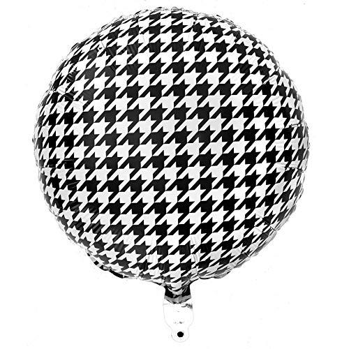 Houndstooth Mylar Balloon (18