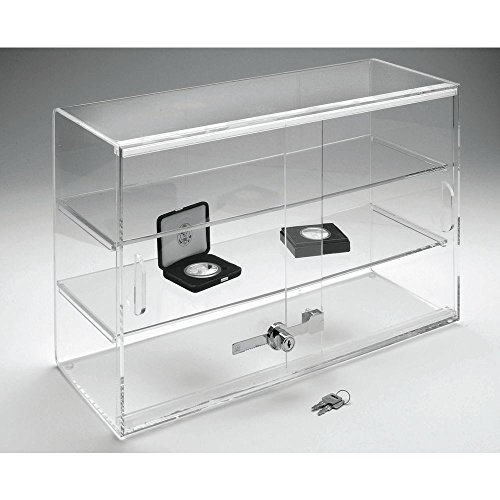 Retail Resource Double Door Acrylic Display Case, 21 x 7.5 x 13 (Retail Acrylic Display Case compare prices)