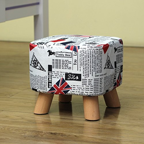 Dana Carrie Sofa Chairs Stylish and Creative Party stool Solid Wood Changing Shoes stool Dressing Bench wear Shoes Bench Seating, Coffee is Served, The Flag of The footrest