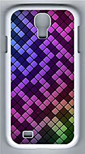 Samsung Galaxy S4 Case Customized Unique Color Grid Pattern Cover For Samsung Galaxy S4 I9500