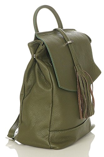Olive la malito Couleurs Sac Femmes à Cuir Moda Sac à dos Daypack Bandoulière R600 w4OZ6wq