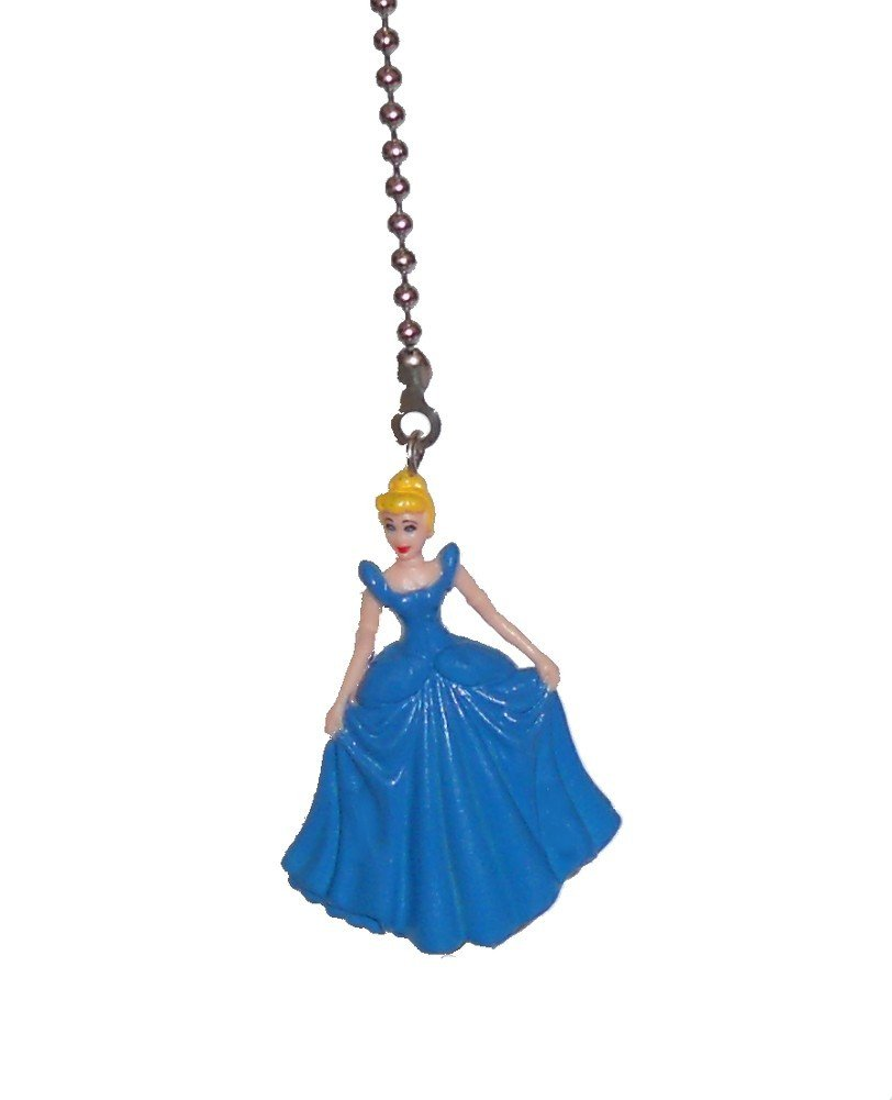 Walt DISNEY Classic Movie assorted Characters CEILING FAN PULL light chain (Cinderella)