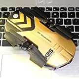 X25 Altitude Hold HD Camera 0.3MP WIFI FPV RC Quadcopter Drone Selfie Foldable Practical Dreamyth (Gold)