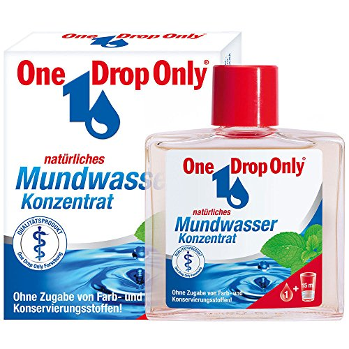 One Drop Only Mouthwash Concentrate