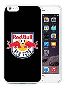 Fashionable And Antiskid Designed iPhone 6 plus Case MLS New York Red Bulls iPhone 6 Plus 5.5 inch TPU Case Cover 18 White