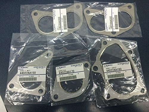 Genuine Subaru Exhaust Gasket Kit Turbo Manifolds Up Down Pipe WRX STI XT GT OEM by Subaru