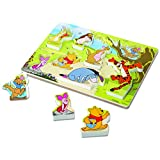 Melissa & Doug Disney Winnie The Pooh Wooden Chunky Puzzle (8 pcs)