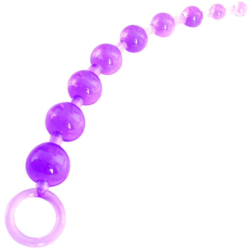 ZDD Masajeador Backyard Massage Pull Beads Masturbation Vibrador Anal Prostate Massage Backyard Stick (Color : Purple) a7022a