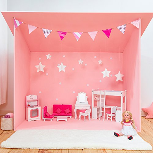 Amazon.com: Olivia\'s Little World Princess Vanity Table and Chair ...
