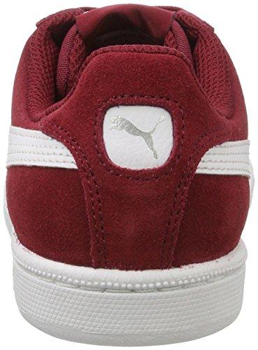 Puma Smash Sd, Unisex-erwachsene Sneaker Rød (tibetansk Rød-hvid)