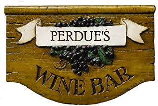 product image for Piazza Pisano Personalized Wine Bar Sign Customized with Your Name or Phrase
