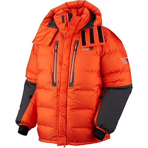 Mountain Hardwear Absolute Zero Parka, State Orange/Shark, Large