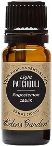 Edens Garden Light Patchouli Essential Oil, 100% Pure Therapeutic Grade, 10 ml