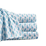 By The Seashore Bed Sheet Set Moby Design 1 Flat Sheet 1 Fitted Sheet 1 Pillow Case King