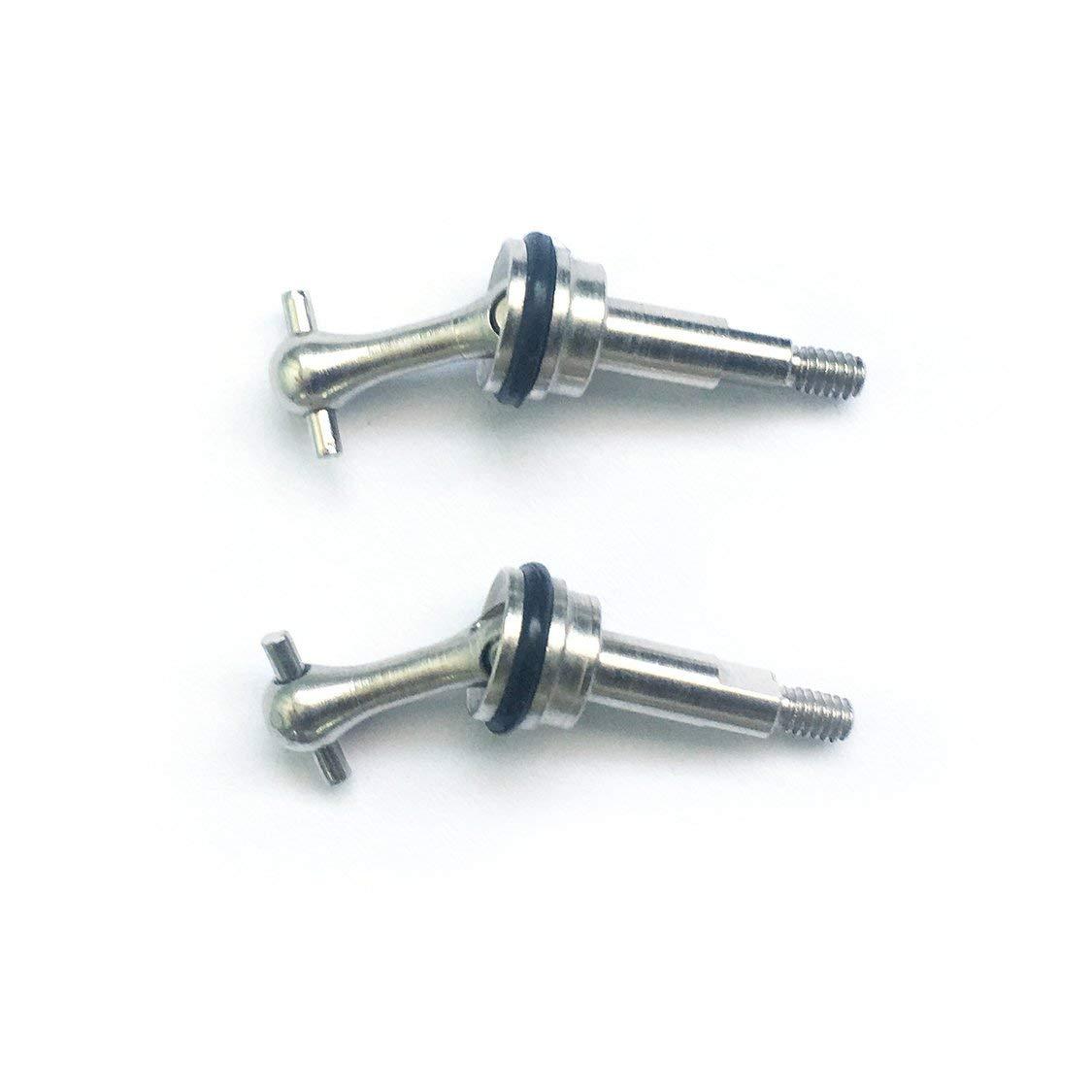 Silber Vige 2 st/ücke getriebewelle Metall hundeknochen f/ür wltoys 1//28 k989 rc Auto Off-Road Modell ersatzteile zubeh/ör komponente