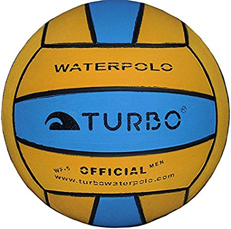 Turbo - Balón de Waterpolo para Adulto (Talla 5), Color Amarillo y ...