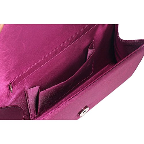 The FabLookAcc , Damen Clutch violett violett
