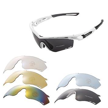 891498bf3f51c1 Lunettes de soleil de sport en plein air, Icefox Lunettes de lunettes  polarisées avec TR90