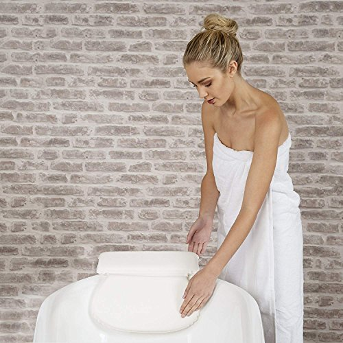 Luxury Spa Bath Pillow with Head Neck Shoulder and Back Support by Bossjoy (Image #5)