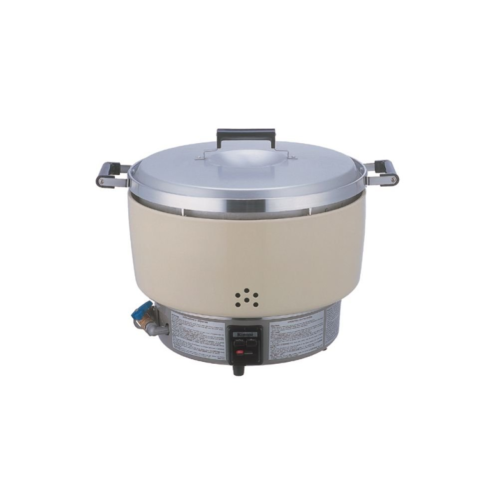 Thunder Group RER55ASN 50-Cup (Uncooked) 100-Cup (Cooked) Natural Gas Rinnai Cooker
