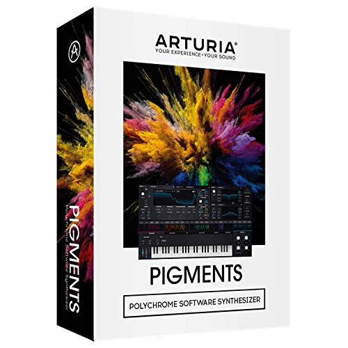 Arturia Pigments Virtual Analog Software Synthesizer, Boxed Version ()