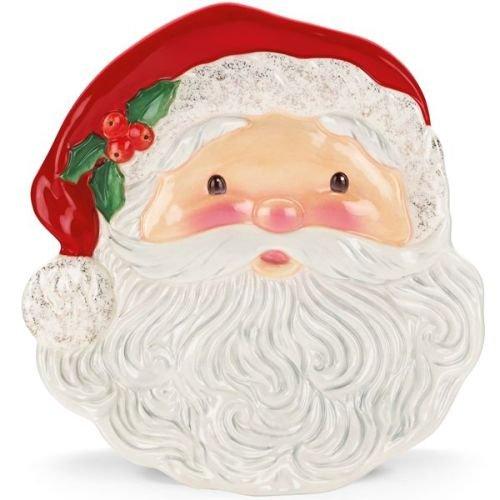 Kathy Ireland Once Upon a Christmas Santa Plate -