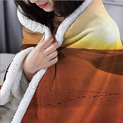 Amazon.com: Manta térmica de desierto con estampado de ...