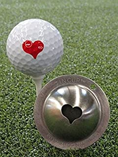 product image for Tin Cup Kiss Me Golf Ball Marking Stencil, Steel