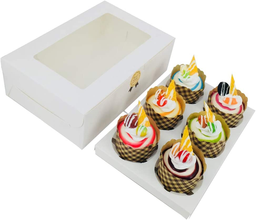 1 pack of 6 single cupcake boxes  I/'ll be away 6th to 13th June no posting