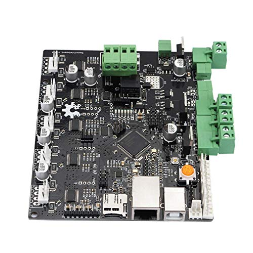 Zamtac 3D Printer Motherboard Engraving Machine Main Control Board Smoothieboard 5X V1.0 CNC Open Source firmware - (Color: Black) by GIMAX (Image #3)