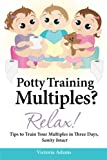 Potty Training Multiples? Relax!: Tips to Guide You Through A Three-Day Potty Training Process,  Sanity Intact