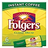 Folgers Classic Roast Instant Coffee Crystals 6 Packets