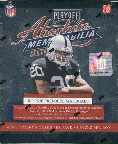2008 Playoff Absolute Memorabilia Football Hobby Box - NFL Football Cards ()