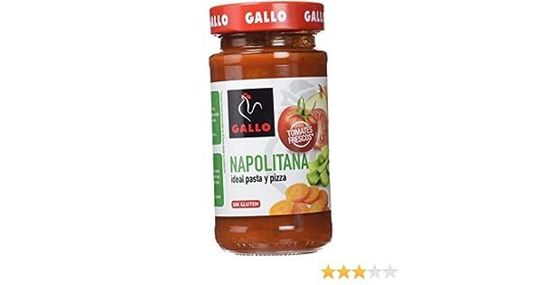 Pastas Gallo - Salsa Napolitana Tarro - 260 g: Amazon.es: Alimentación y bebidas