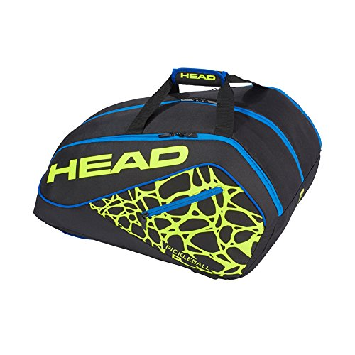 HEAD Pickleball Tour Bag - Supercombi Paddle Bag w/Multiple Compartments & Adjustable Shoulder Straps from HEAD